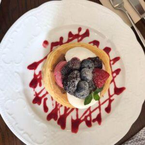 カフェアンジェ ベリーパンケーキ