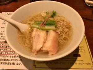 マニッシュ 塩生姜らー麺