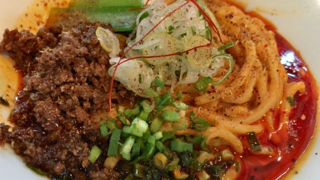金魚ヌードル 担々麺