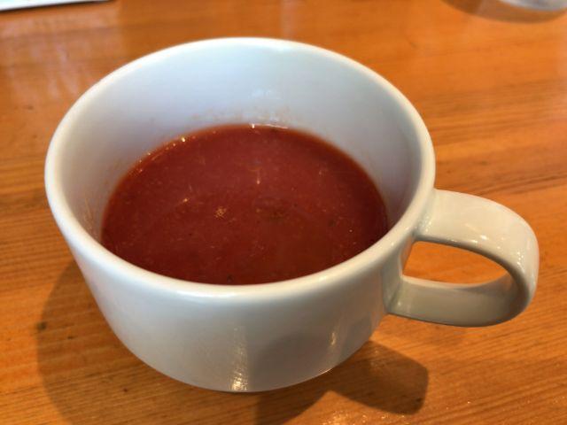 ハンバーグ大地 本日のスープ