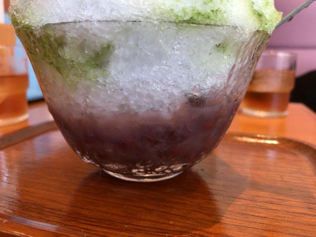 つる瀬 かき氷