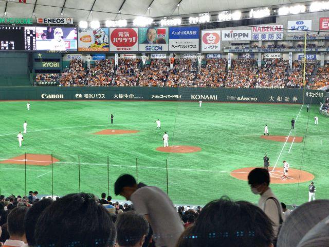 東京ドーム 球場内