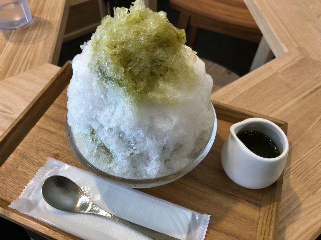 福尾商店 抹茶みつ かき氷